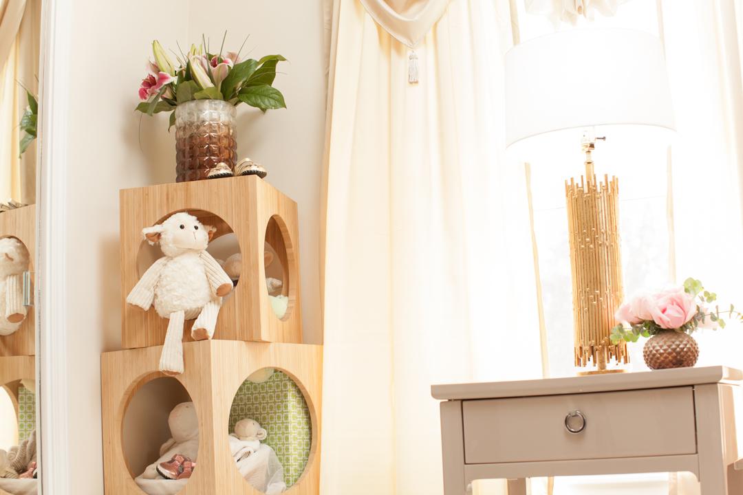 modern nursery storage