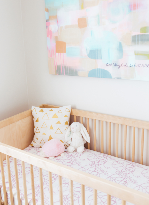 Pastel Nursery Decor | Little Crown Interiors