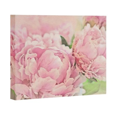 Pink Peonies Art Canvas | Little Crown Interiors Shop