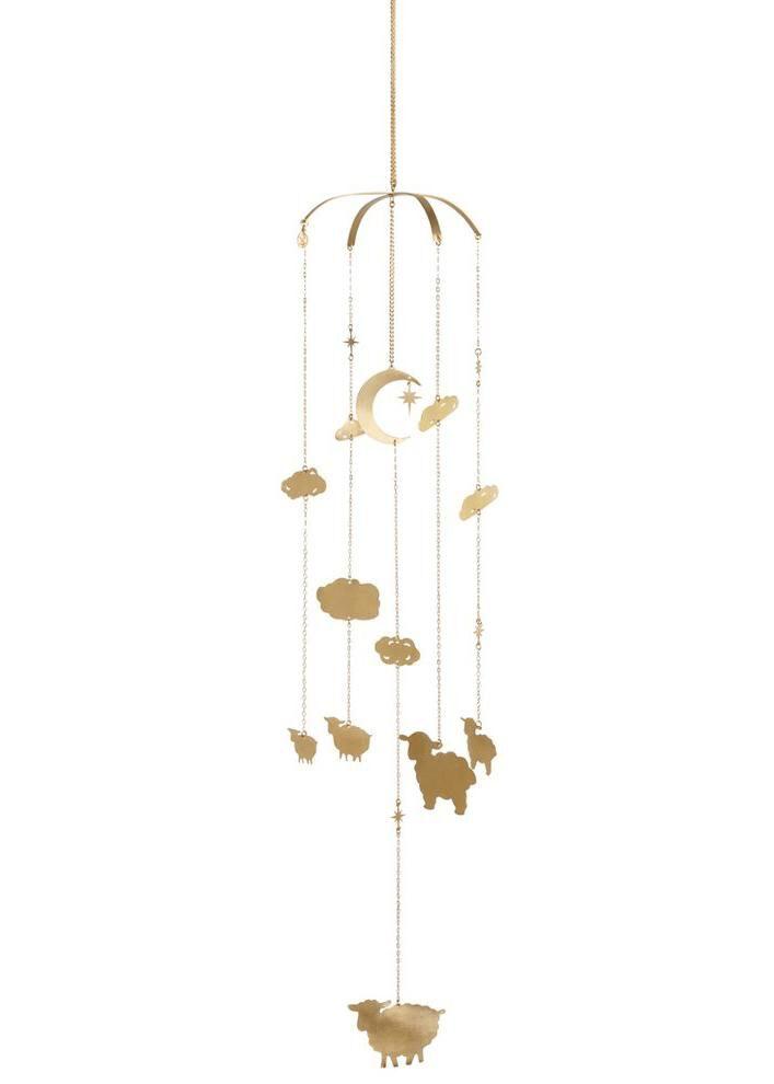Elegant Gold Sheep Mobile