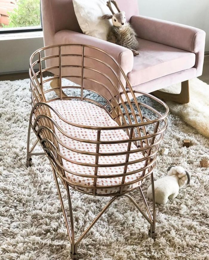 2018 Nursery Trends: Rose Gold