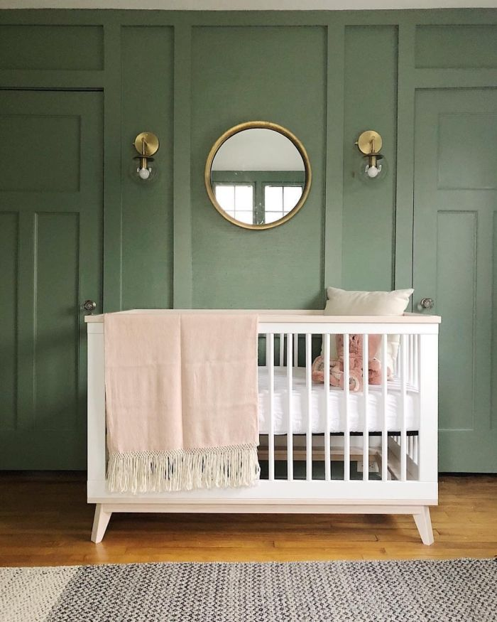 2018 Nursery Trend: Nursery Accent Wall