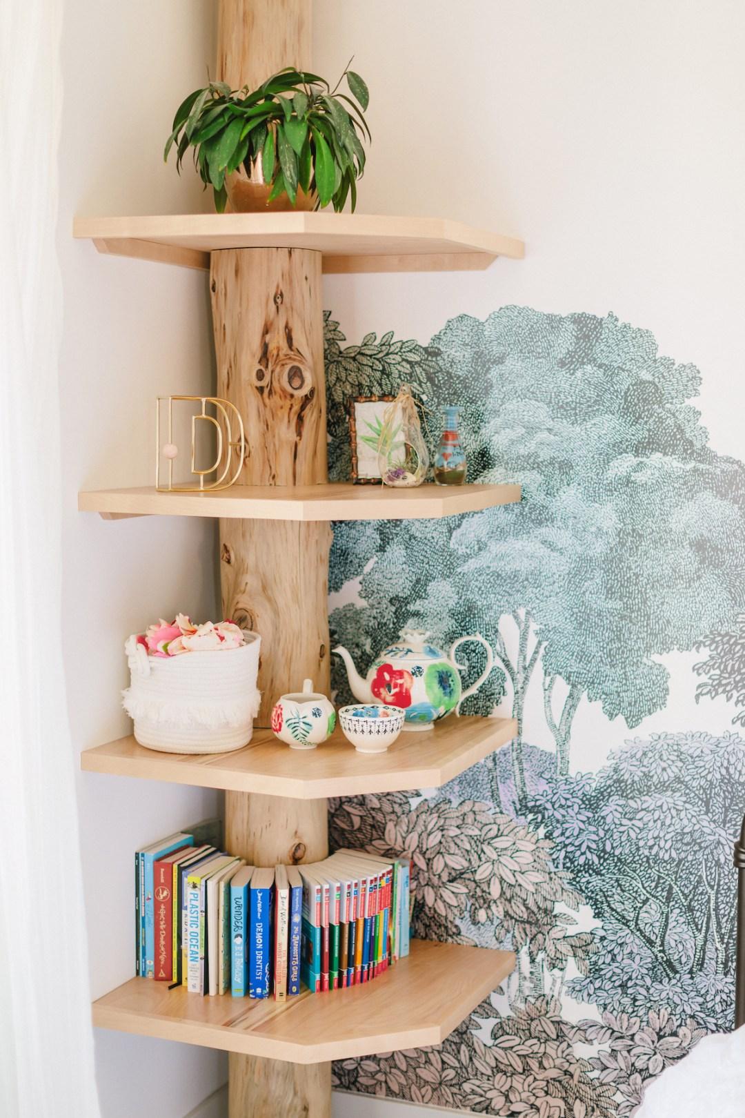 Designer Girl's Bedroom by Little Crown Interiors