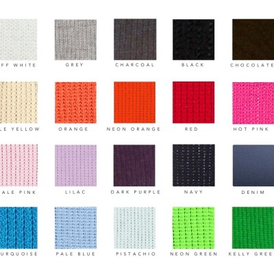 Custom Initial Letter Blanket Colors
