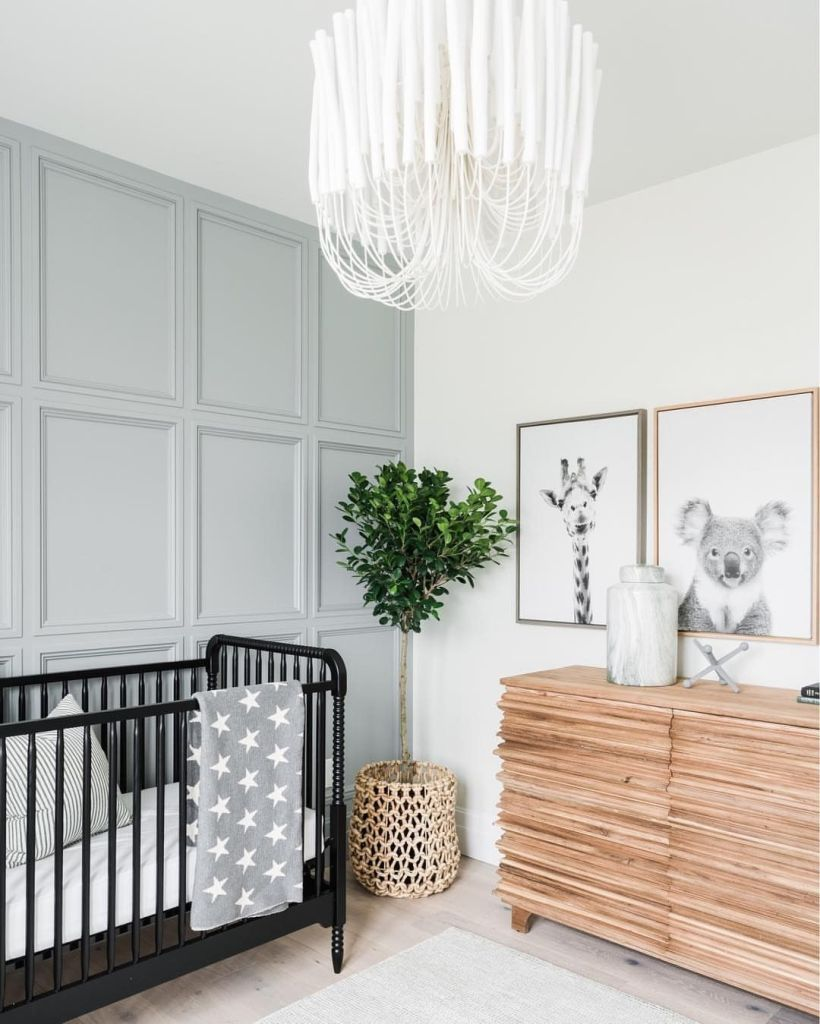 Nursery Trends of 2019: Light Blue Nursery