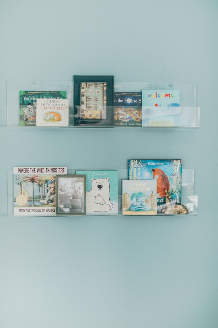 Acrylic Book Ledges