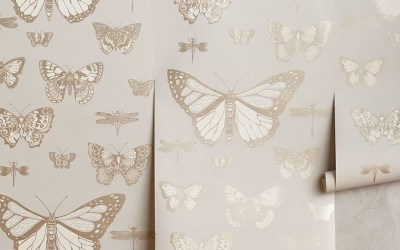 Sophisticated Butterfly Decor for the Nursery for Kid's Room