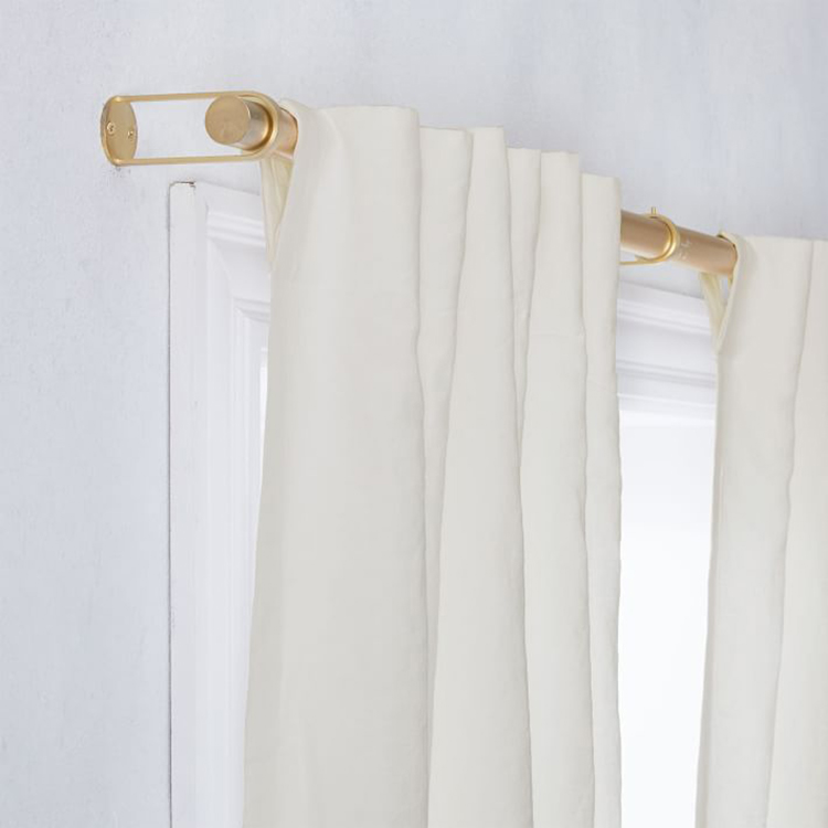 Ivory Blackout Curtains for the Nursery