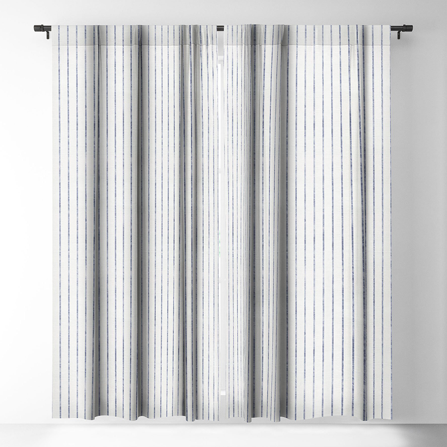 Striped Blackout Curtains for the Nursery