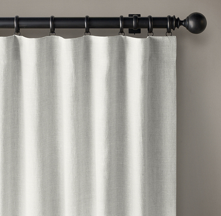 Linen Blackout Curtains for the Nursery