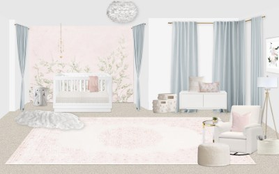 First Look: A Nursery Designed Two Ways
