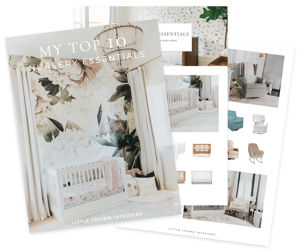 Top 10 Nursery Essentials & Must-Haves