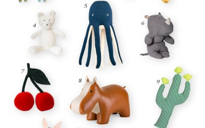 Adorable Stuffed Animals for the Nursery