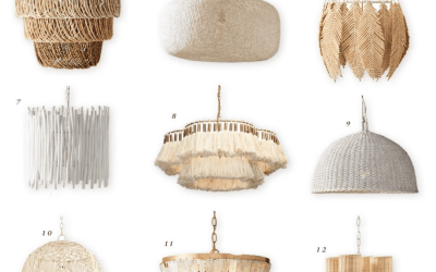 Neutral Chandeliers for the Nursery: Part 2