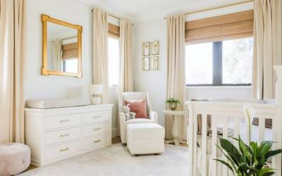 Design Reveal: A Sophisticated Neutral & Gold Nursery