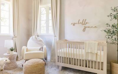 A Natural & Neutral Nursery Design Reveal in Los Angeles