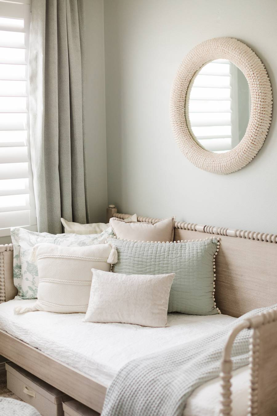 Southern Inspired Mint Green Nursery Design