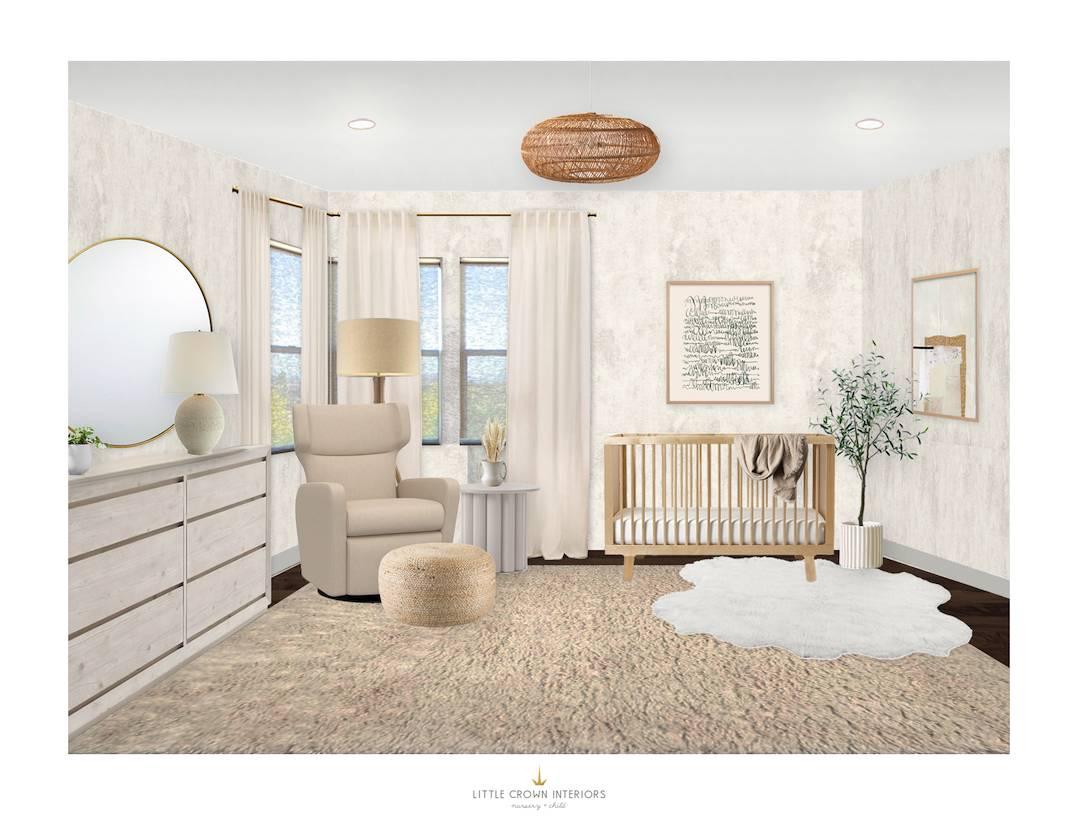 Neutral Nursery E-Design