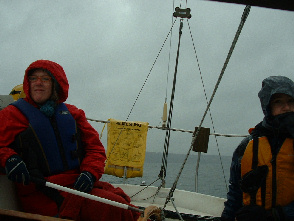 Andrew has many fond memories of sailing Saucy Sue, our Catalina 27