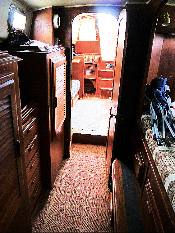 Not just a small cabin, this is a proper 'bedroom'.