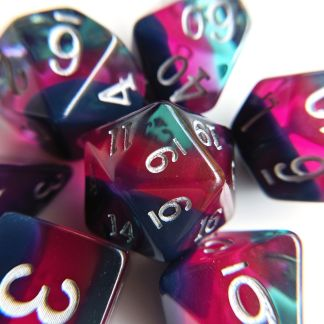 Multi Coloured Dice