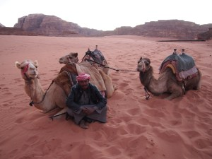 Abdullah and his Camels