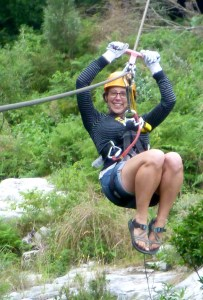 Ziplining in the Tsitsikamma National Park