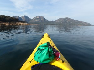 Freycinet Paddle view of The Hazards