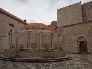 Onofrio Fountain, inside Pile Gate of Dubrovnik old town