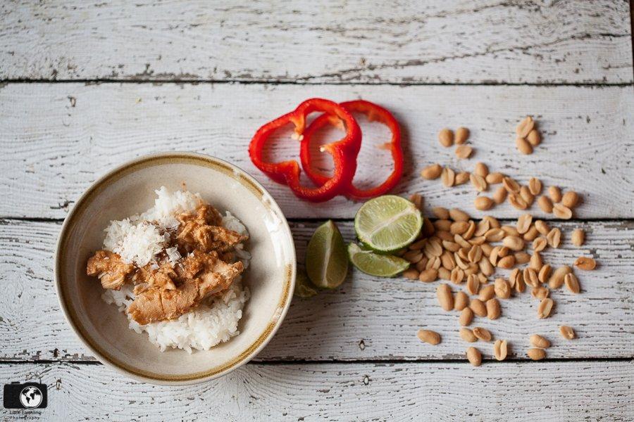 Crockpot Peanut Chicken Recipe