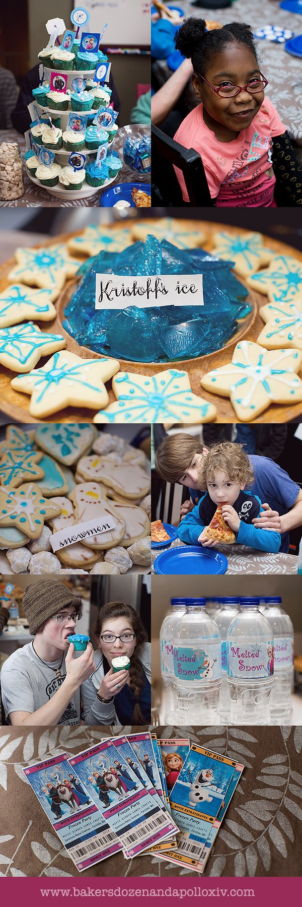 How to Throw a Frozen Themed Party