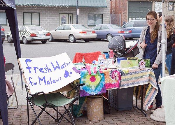 farmer's market, bellingham farmer's market, tie dye, teen missions, teen missions international