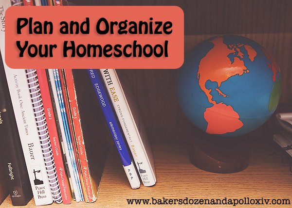 How to plan and organize your homeschool year