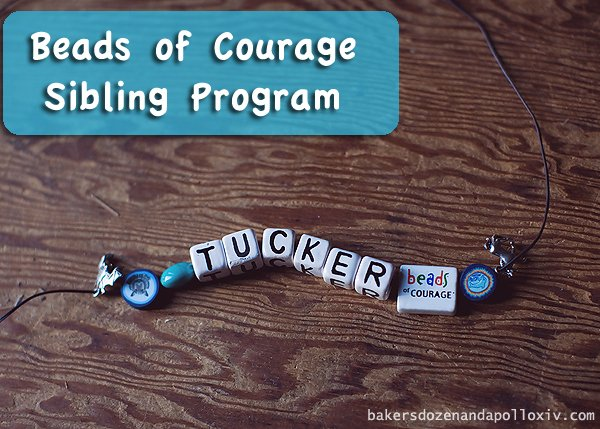 Beads of Courage Sibling Program