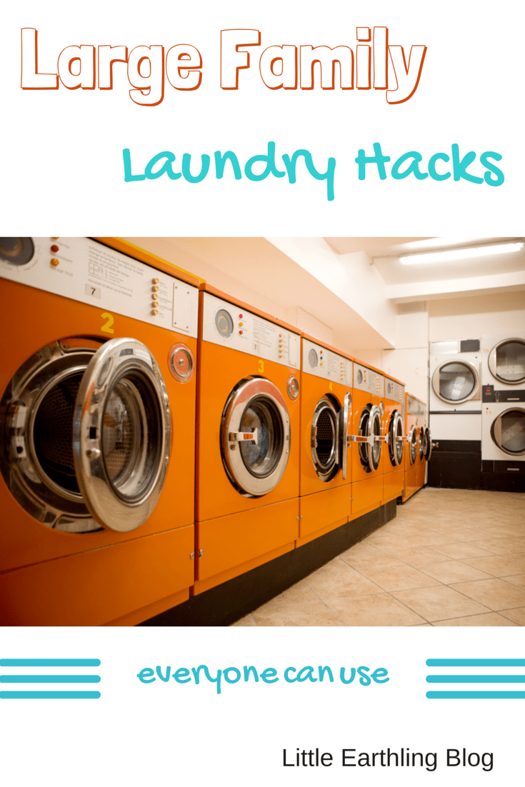 Large family laundry hacks for Large family laundry