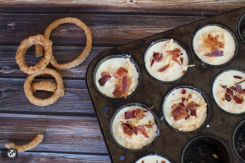 Bacon Onion Ring Quiche Recipe