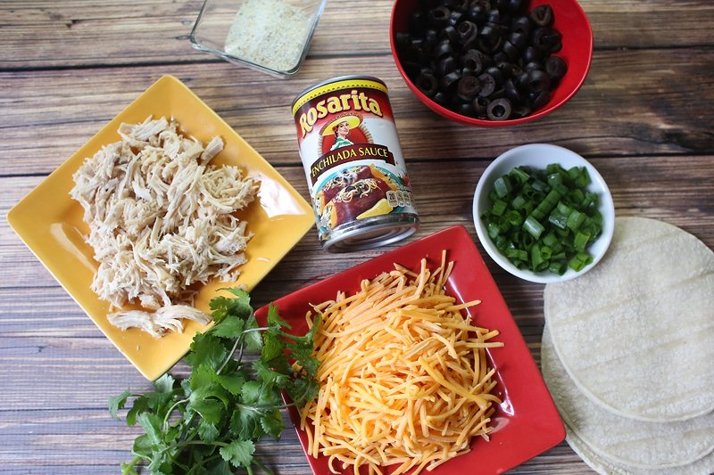 Easy chicken enchilada recipe will feed a crowd.