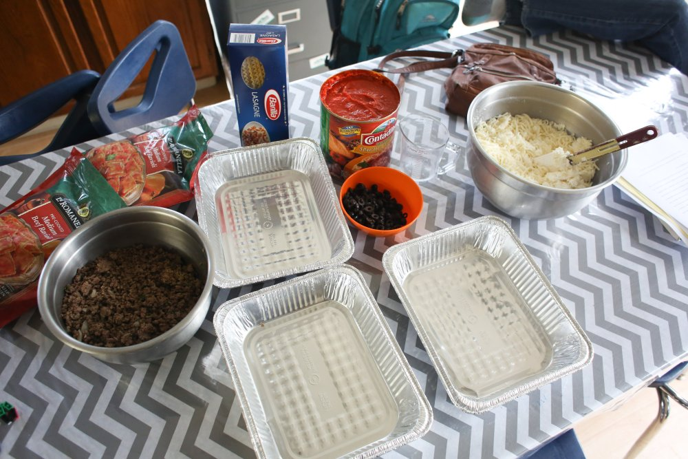 Tips for large family freezer cooking.