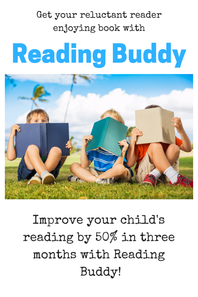 Reading Buddy will increase your child's reading by 50% in just 3 months!