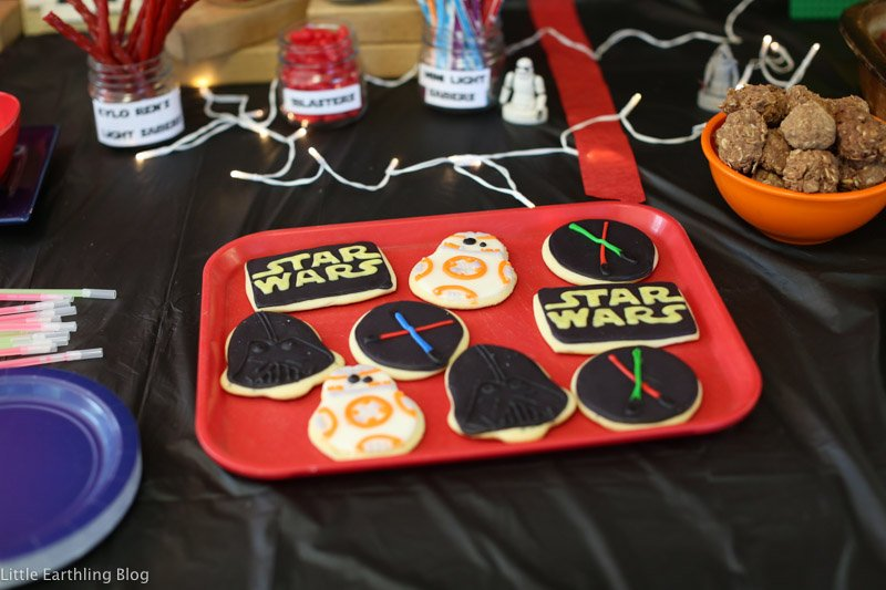 Star Wars Party {Hezekiah's Birthday}