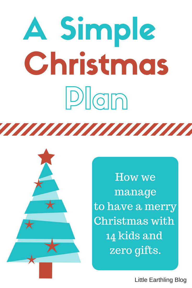 A Simple Christmas Plan