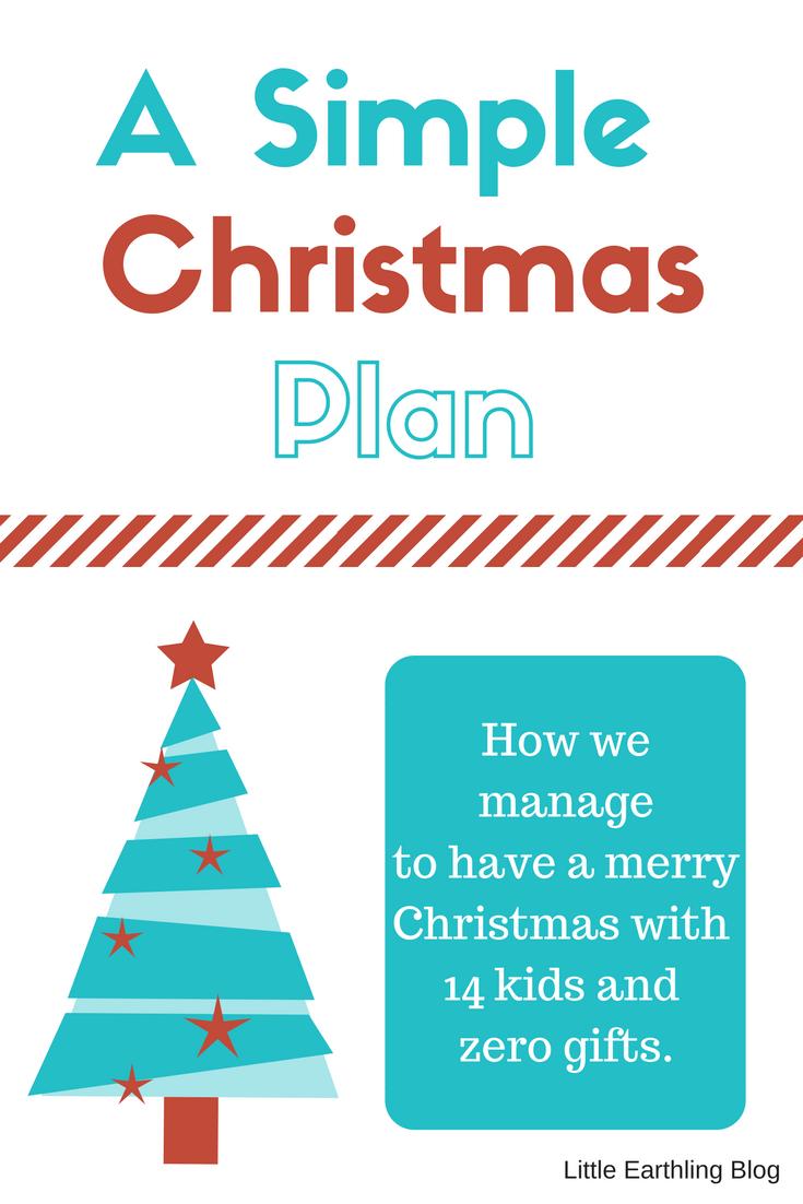 A Simple Christmas Plan
