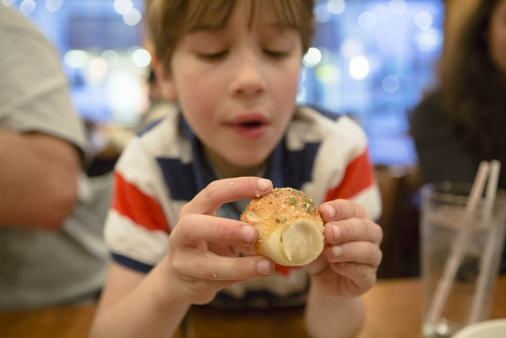 Pizza Hut Stuffed Garlic Knots are the bomb!!!