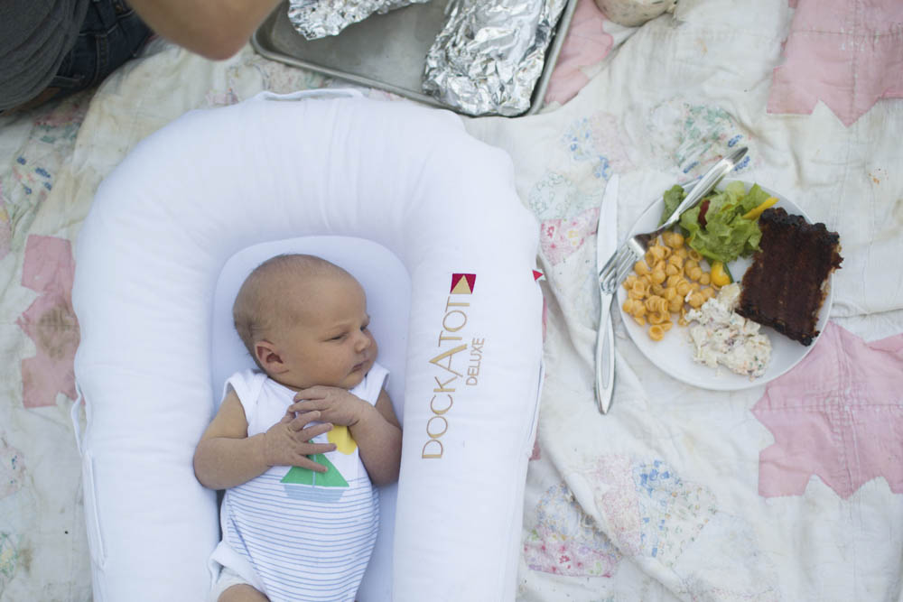 Minimalist baby essentials for the large family.