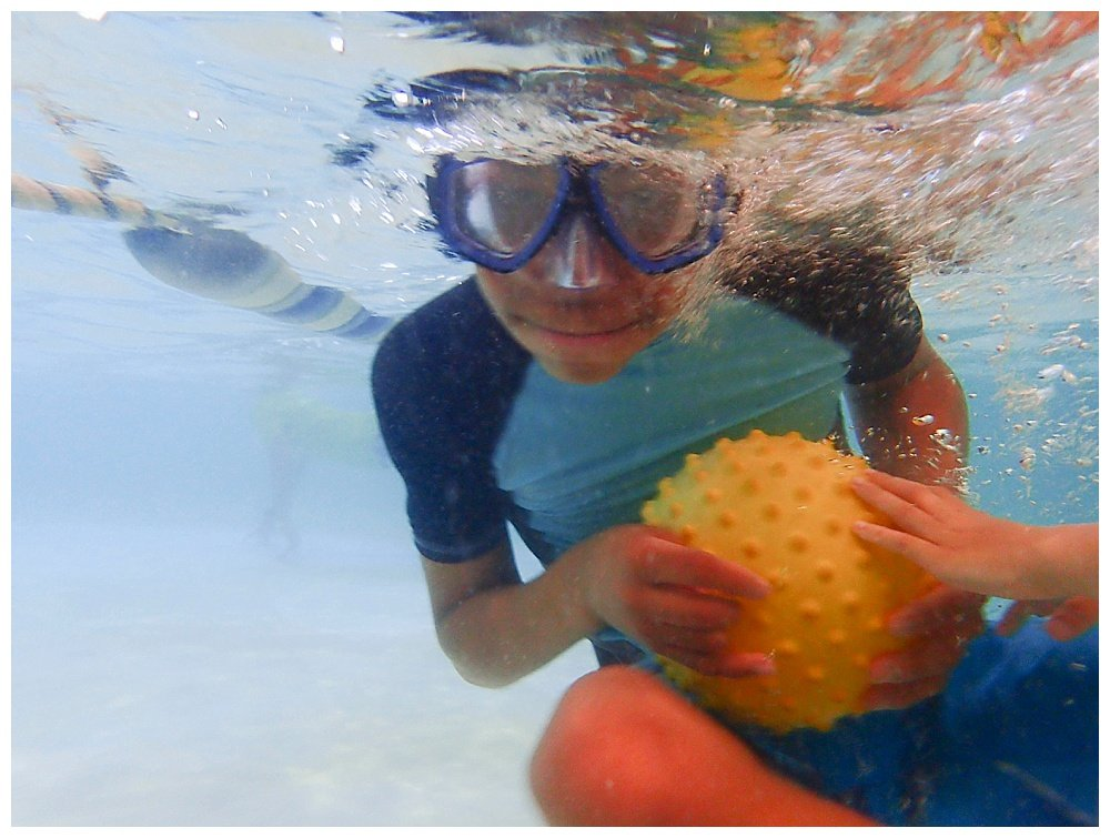 Does your large family like to swim? Our kids love the water!