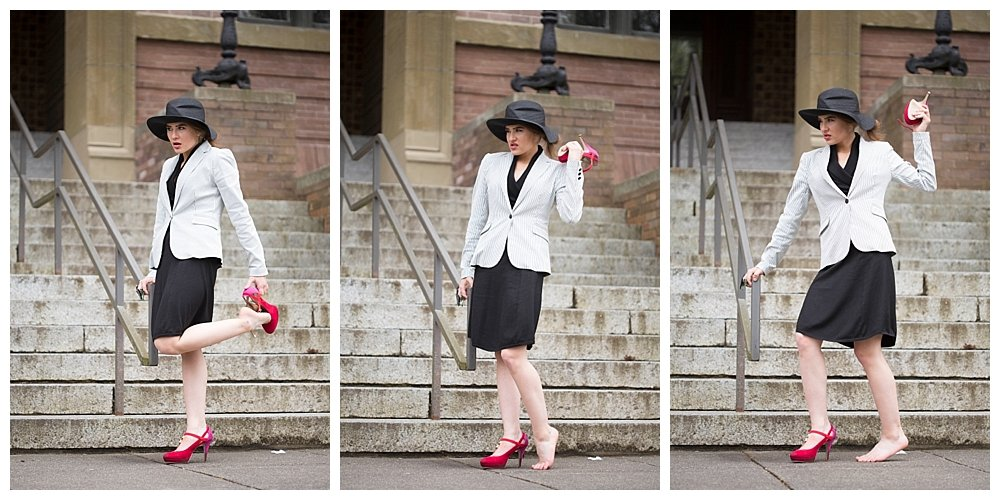 A Series of Unfortunate Events Esme Squalor Costume.