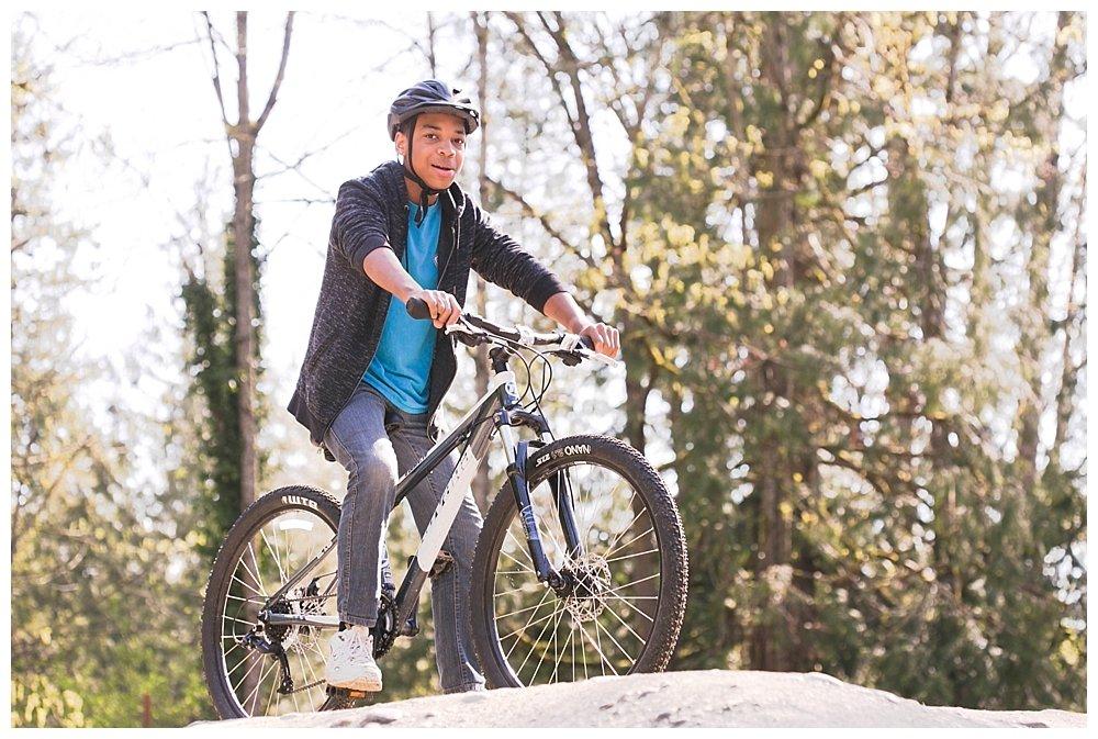 Whatcom Falls Bike Track: PNW Homeschooling Adventures