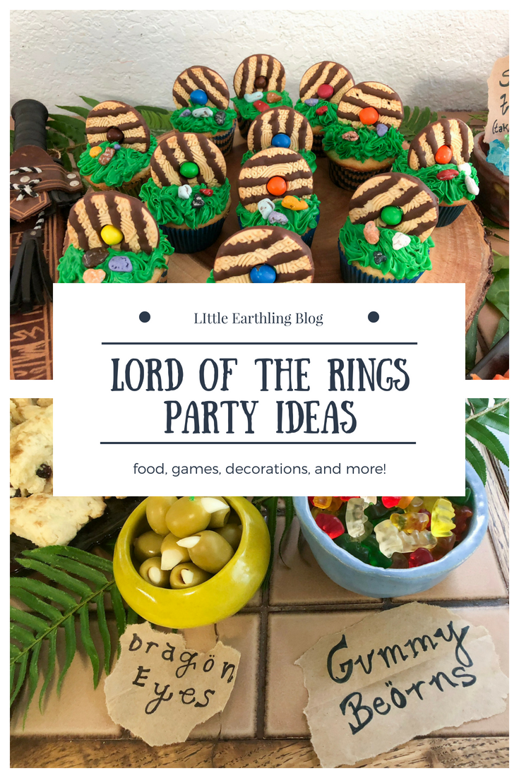 Lord of the Rings Hobbit Party Ideas