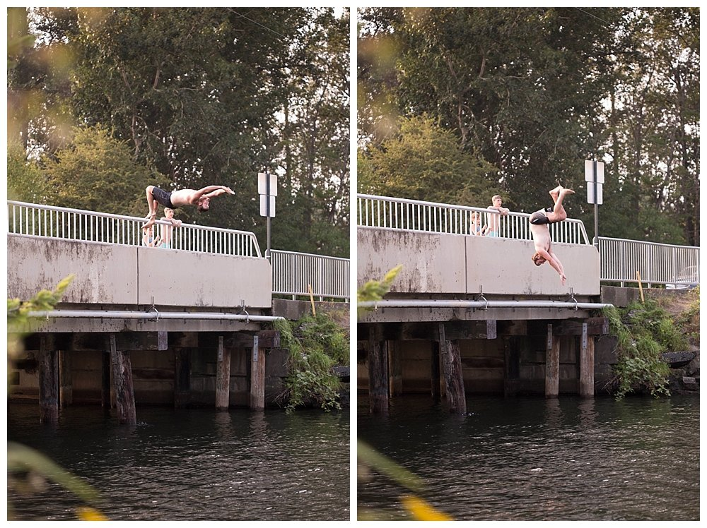 David bridge jumping.