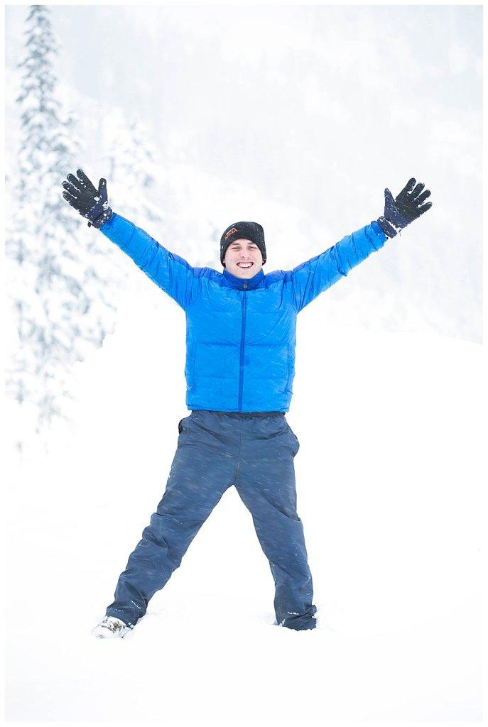 Kiwis on Mt. Baker: Jared